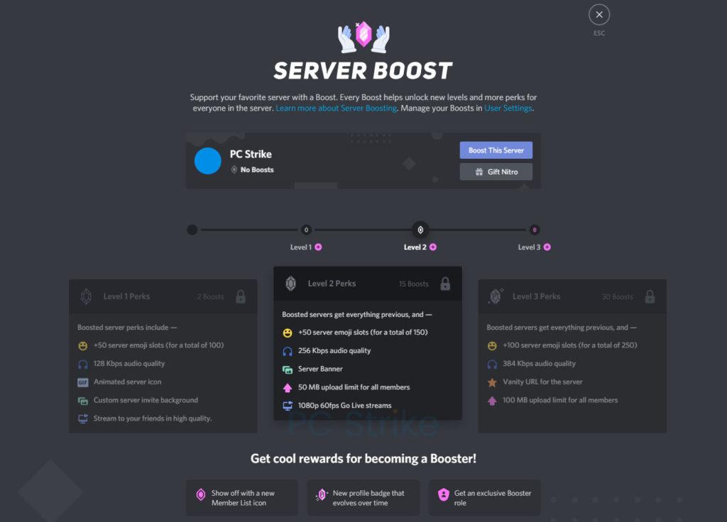 Discord Business Model Server Boost