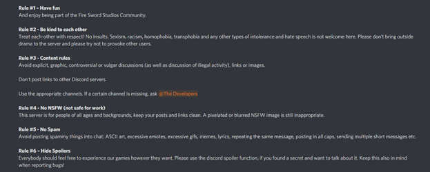 Making A Discord Server Rules