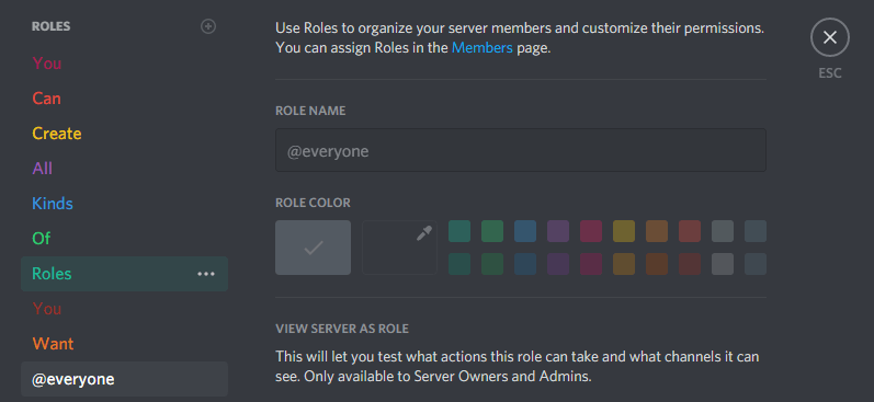 Setting Up A Discord Server Roles