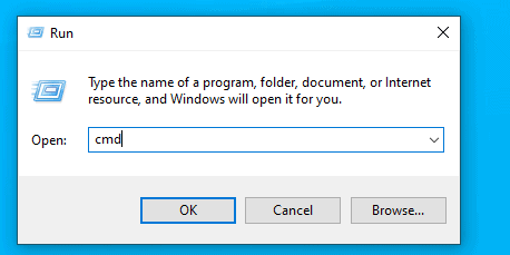 Windows Opening Command Prompt