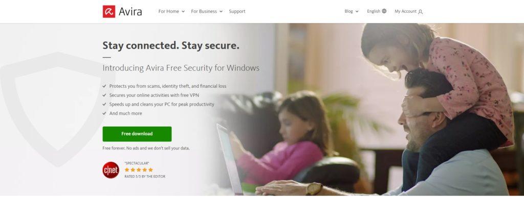 Avira Antivirus Pro Website