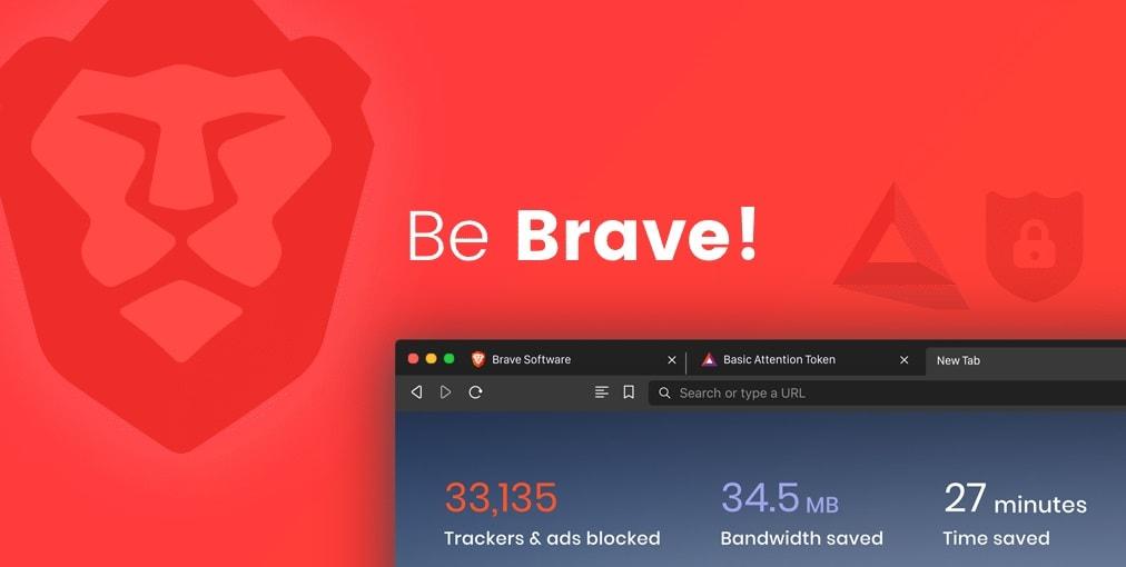 Brave Browser Splash
