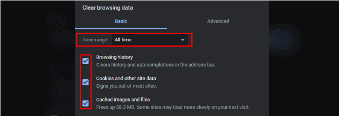 Clear Browser Cache On Google Chrome