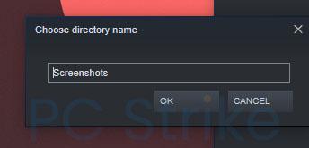 Folder For Steam Screenshots