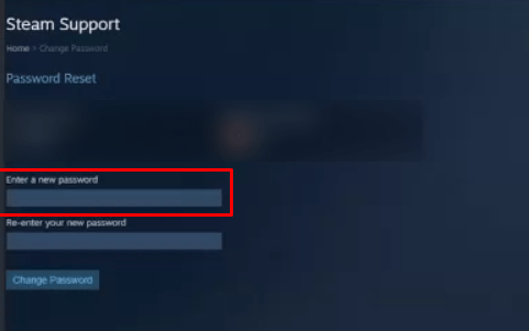 How To Change Your Password On Steam