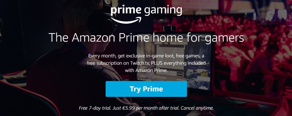 Prime Gaming Benefits