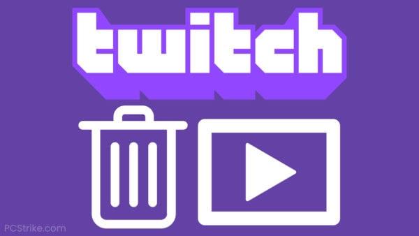 Error Deleting Twitch Videos