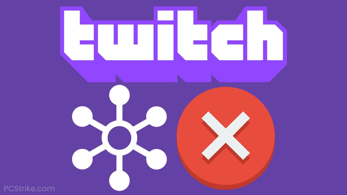 Error Fetching Your Channel Information On Twitch