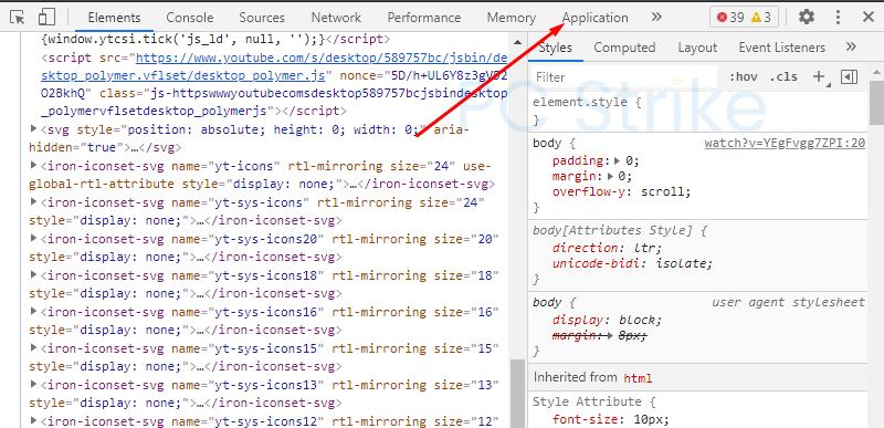 Get Discord Token Chrome Application Tab