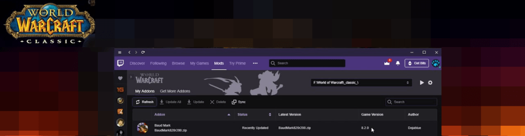 Twitch Not Finding WoW