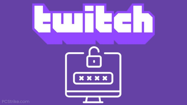 Twitch Password Reset Not Working