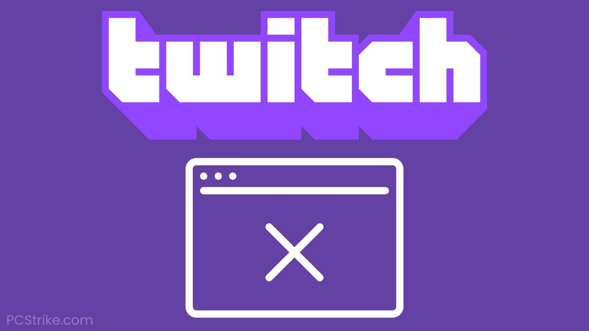Twitch Error 3000 – Media Resource Decoding Error