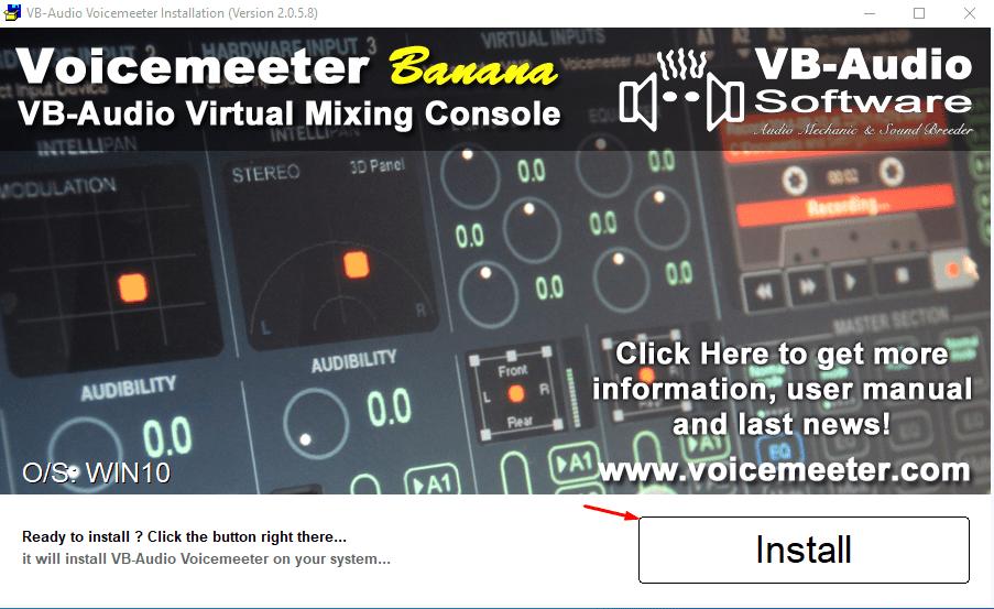 VB Audio Voicemeeter