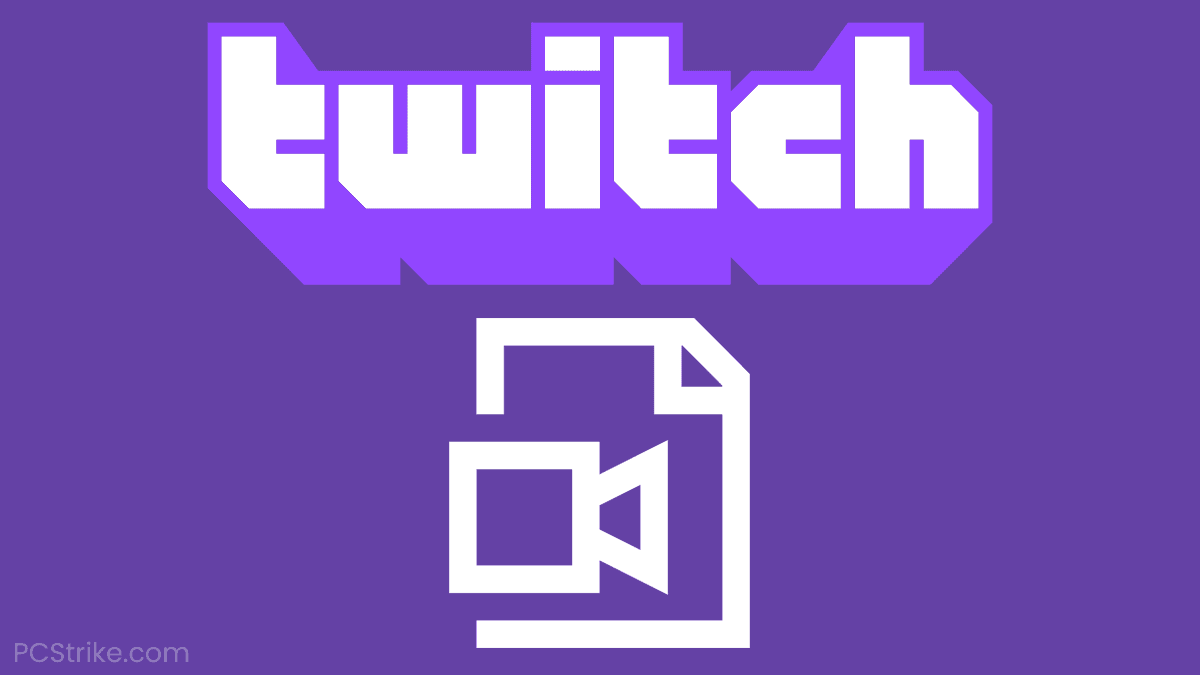 How To Save Streams On Twitch (VOD)