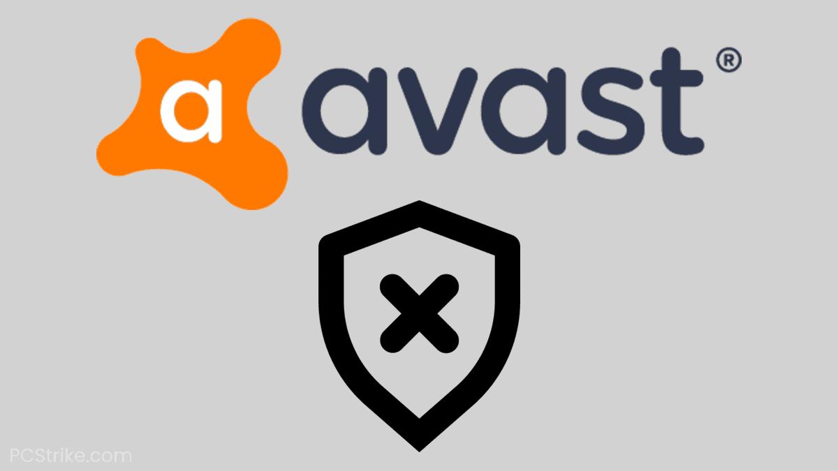 Avast Won't Open On Windows