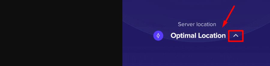 VPN auto location feature