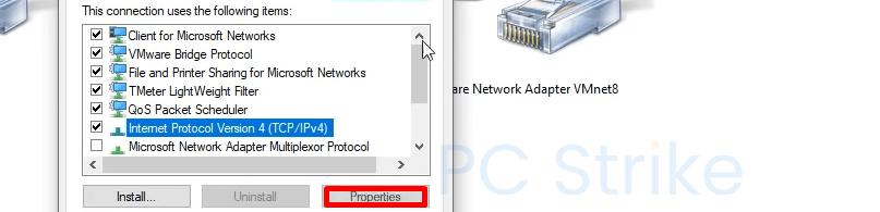 Windows 10 Enable IPv4