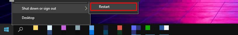 restarting PC
