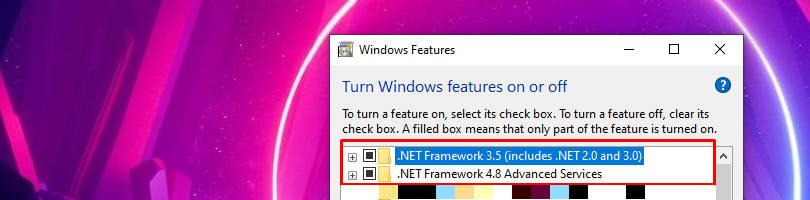 selecting latest version of .NET Framework