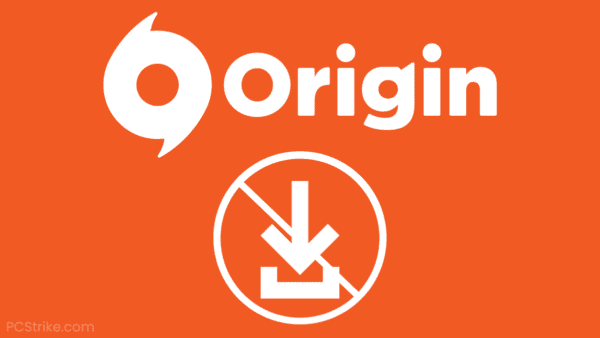 Origin Download Failed Error
