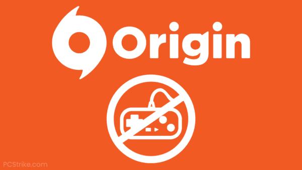 Origin Game Won't Launch