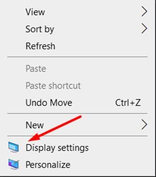 PC Display Settings