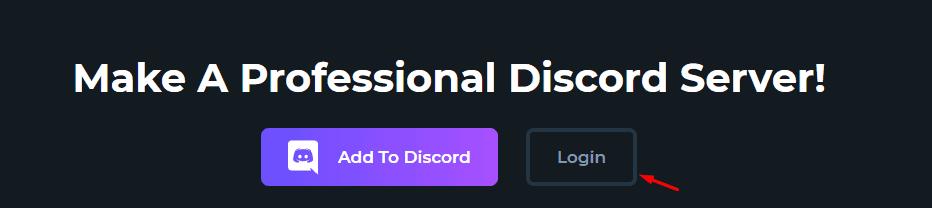ProBot Discord bot website login