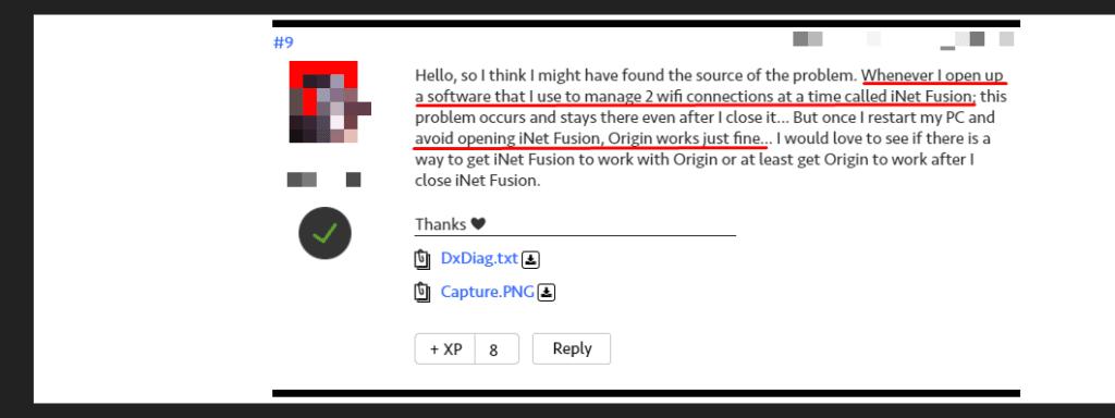 avoid opening other programs when using Origin