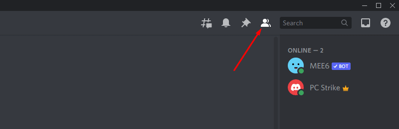 expanding Discord server member list